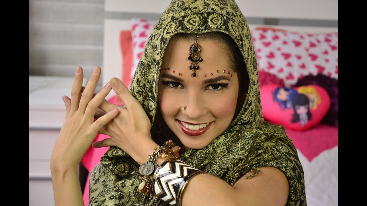 Traje hindu mujer como se hace