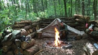SOLO WILD CAMPING UNDER CANVAS - 2 nights