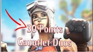 HOW I GOT 30 POINTS IN ONE GAUNTLET GAME