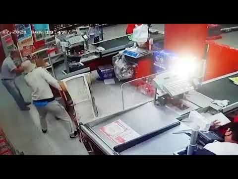 Violento asalto en un supermercado DIA de Paraná