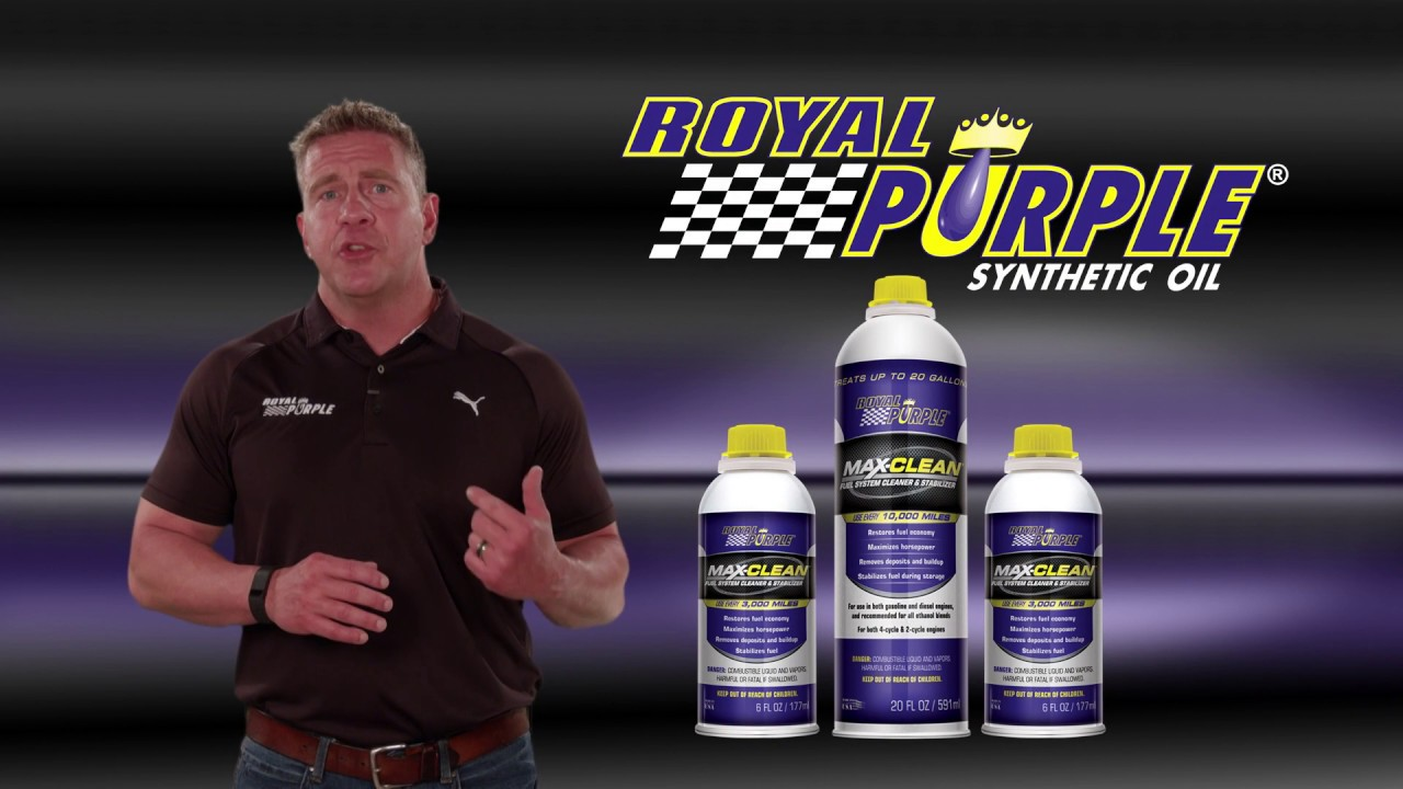 MAX-CLEAN® – Royal Purple Synthetic Oil