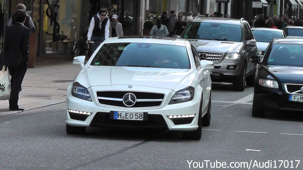 Mercedes Cls 63 Amg Wheelspin Acceleration Amp Modified