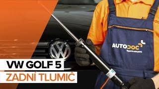 Demontáž Tlumic perovani VW - video průvodce
