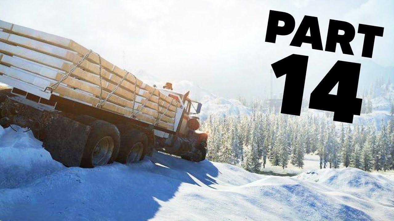 SNOWRUNNER Gameplay Guía Parte 14 - DAME METAL + vídeo
