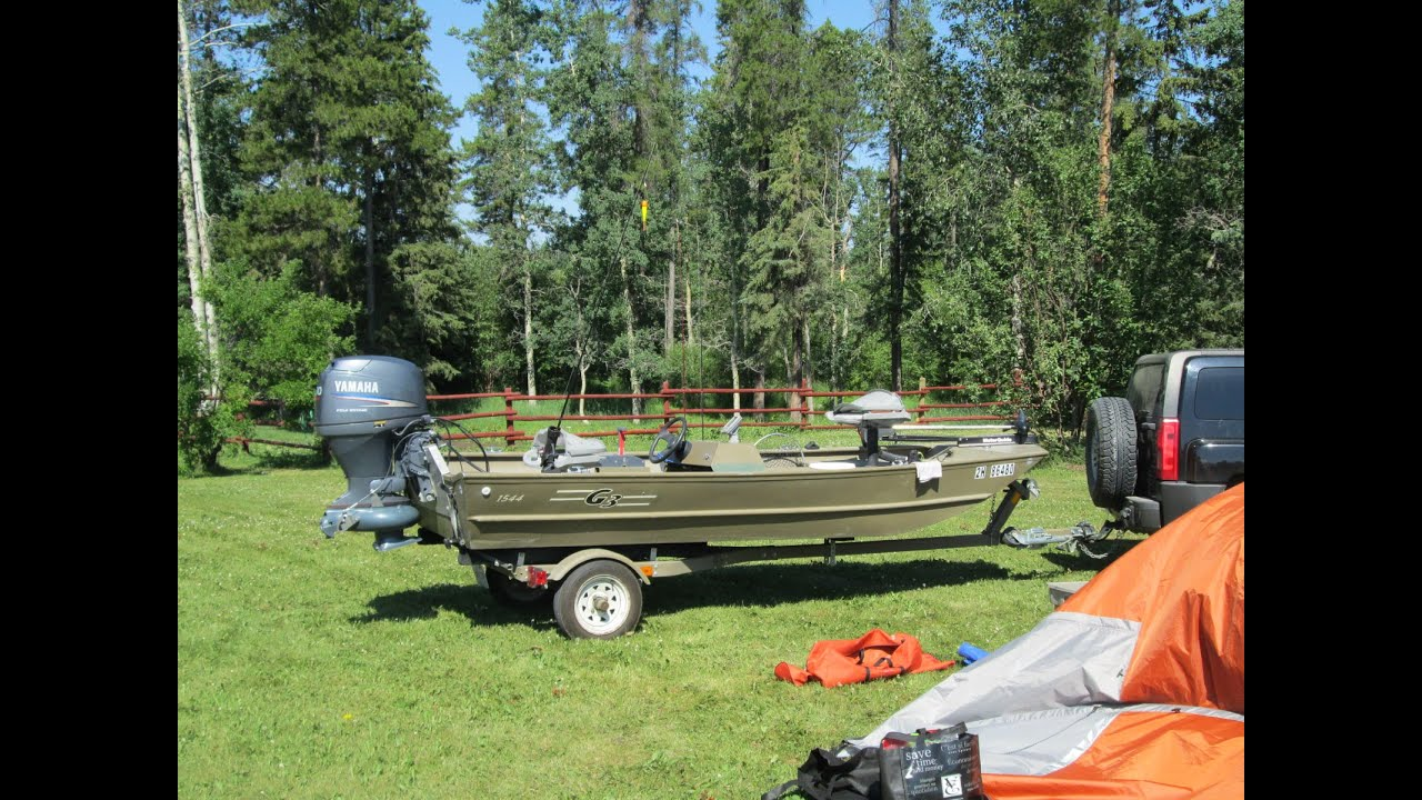 30HP G3 Outboard Jet - Test Run 2015