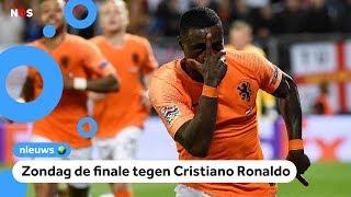 Oranje wint en is door naar de finale van de Nations League