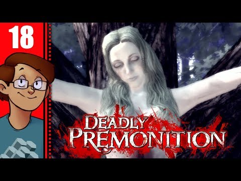 Let's Play Deadly Premonition Part 18 - The Art Gallery