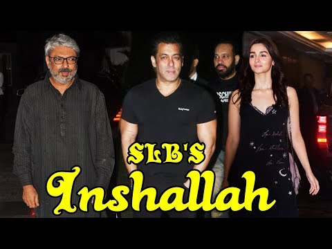 Salman Khan & Alia Bhatt CONFIRMED to Lead Sanjay Leela Bhansali's Inshallah   Alia Bhatta Spotted