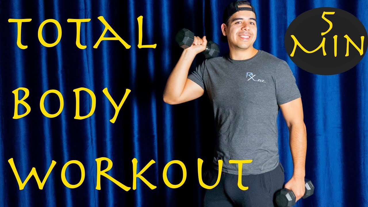 Full Body - DumbBell - Tuesday - 5 Minute Move