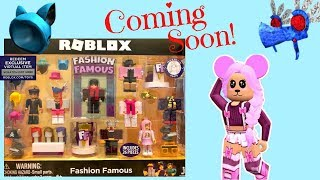 Roblox Toy Fashion Famous, Celebrity Series 2 Playset, Coming Soon
