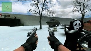 Counter Strike Source Zombie Reloaded gameplay video