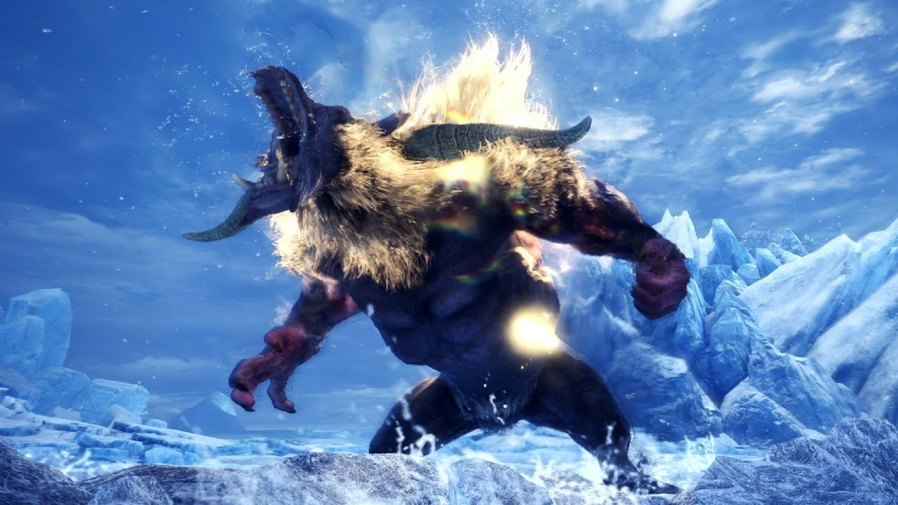 Monster Hunter World: Iceborne - Furious Rajang Hunt (Solo / Hammer)
