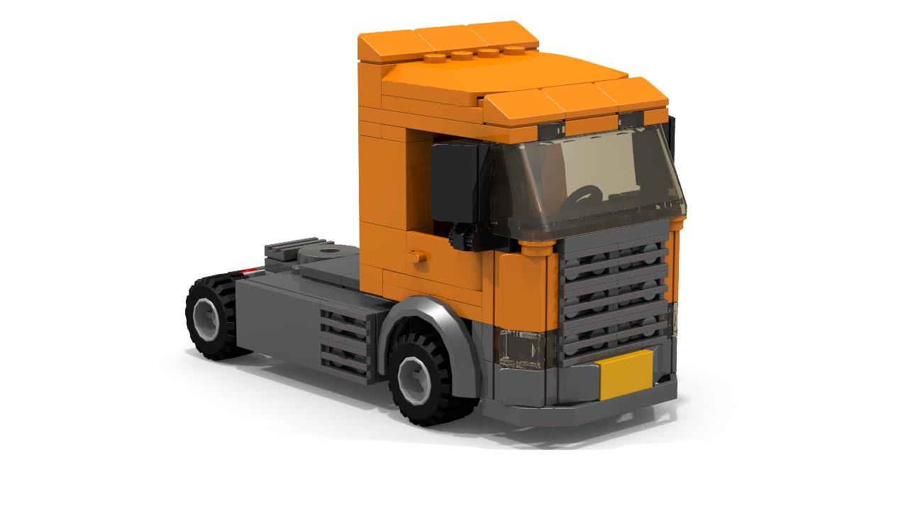LEGO City Scania Truck Instructions - YouTubeLego City Truck Instructions