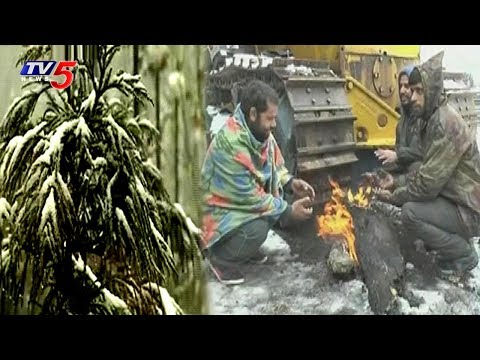 Temperature Fall Down To Minus Two Degrees Celsius In Jammu & Kashmir | TV5 News