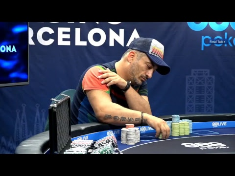 888pokerlive barcelona main event: final table