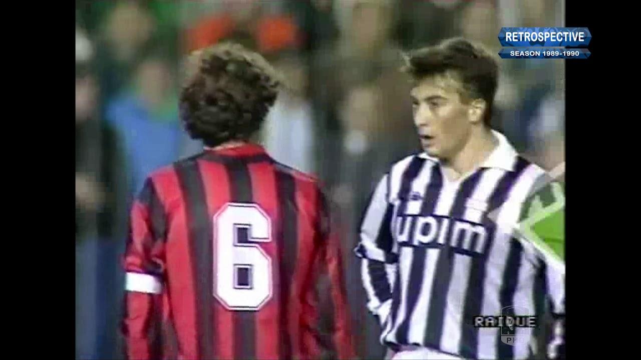 Coppa 1989-90, Final, Juve - AC Milan - YouTube
