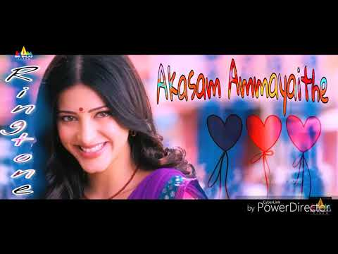 Akasam Ammayaithe - New telugu song ringtone - Film - ( gabbar Singh )