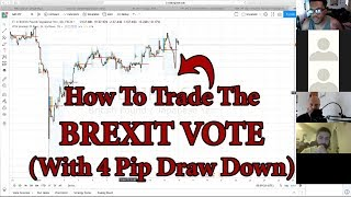 How To Trade The Brexit Vote (With 4 Pip Draw Down) - GBPJPY GJ Forex Trading
