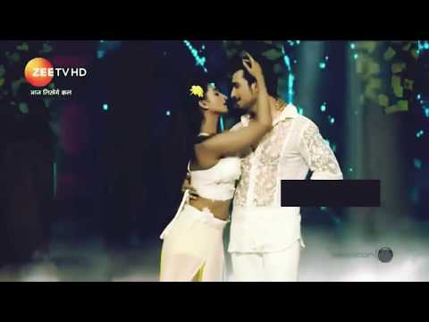 Mohena Singh special duet performance with Arjun Biljani for a show.