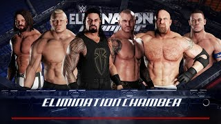 WWE 2K18 PC Gameplay - Elimination Chamber All Stars and Legend [60FPS][FullHD]