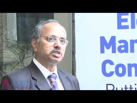Mr. V Raja, President & MD, TE Connectivity India, in an interview with iGovernment, 2013