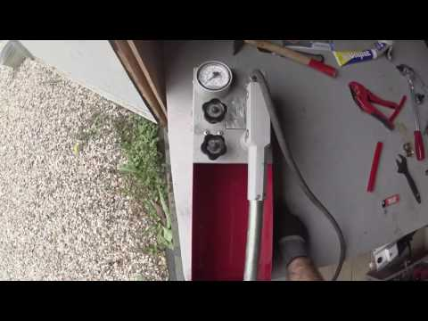 Тест трубы Stout для теплых полов - испытание фитингами для стандартной трубы (СтроимТепло.Ру)