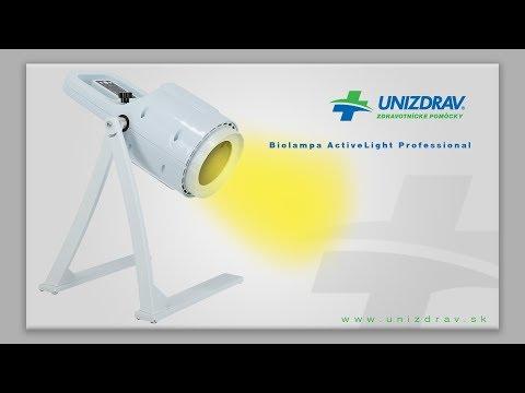 Biolampa ActiveLight Professional - VIDEOMANUÁL