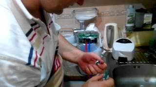 установка системы очистки eSpring дома 1-я часть