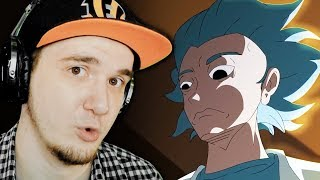 Рик и Морти ▶ АНИМЕ (Rick and Morty Season 4 opening anime parody) | Реакция