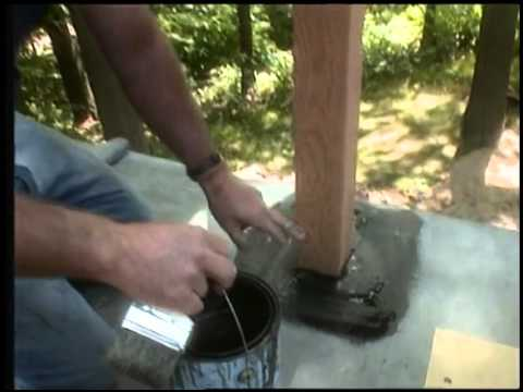 Applying Rubber Roofing And Flashing Youtube