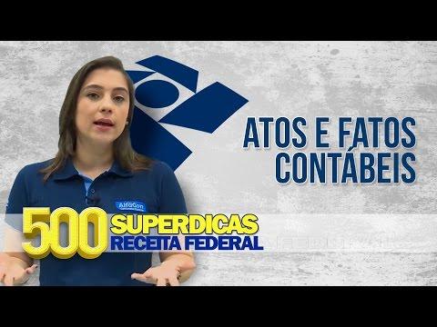 Contabilidade - Atos e Fatos Contábeis | Dica nº07 | Receita Federal - AlfaCon Concursos Públicos