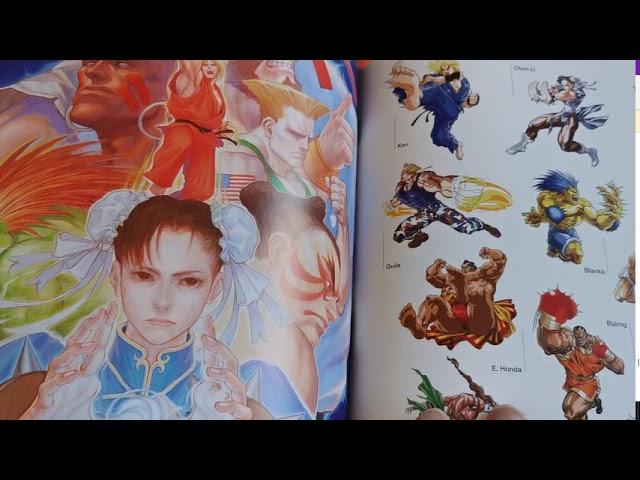 Avis artbook Street Fighter Memorial Archive Beyond the World