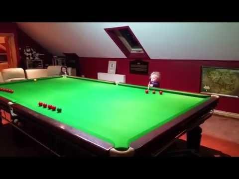 Adam Wynne Amazing 3 Year Old Irish Snooker Kid