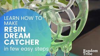 Super Easy Way to Make a DIY Dream Catcher   Step by step Tutorial