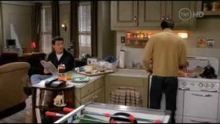Друзья (Friends) - Чендлер, Джо и яица