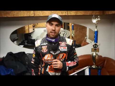 2016 World of Outlaws Craftsman Sprint Car Series Victory Lane from I-96 Speedway