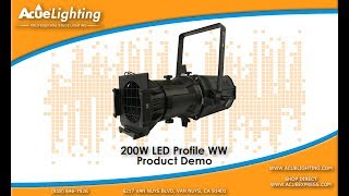 Acue Lighting 200W Profile LED Product Video Demo