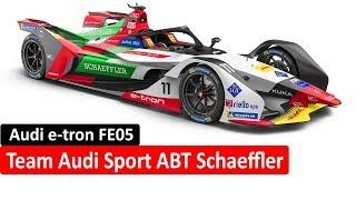 Motorsport e-tron FE05 e-tron Formula E