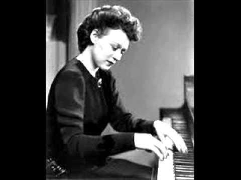 Nadia Reisenberg plays Litolff Scherzo Op.102 in D minor