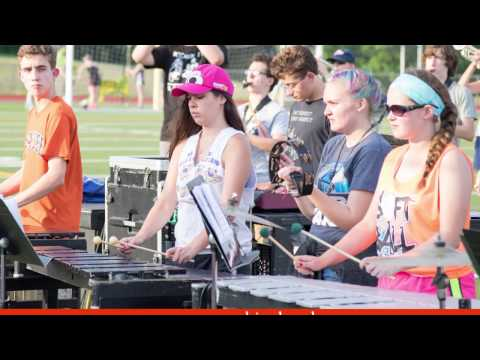2016-17 East Syracuse Minoa Spartan Marching Band