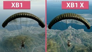 [4K] PUBG – Xbox One vs. Xbox One X Patch 0.6.1.25 Frame Rate Test & Graphics Comparison