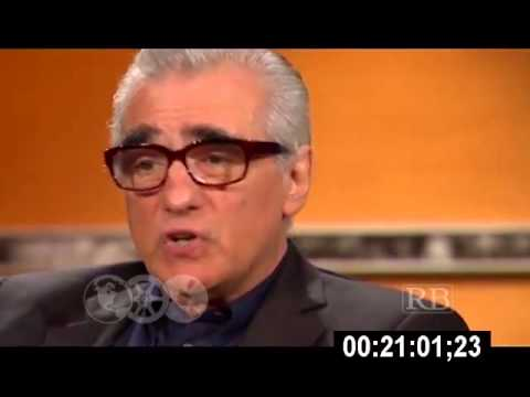 Martin Scorsese with Prof. Richard Brown
