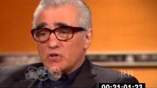 Martin Scorsese with Prof. Richard Brown