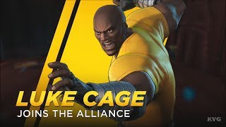 Marvel Ultimate Alliance 3: The Black Order - Luke Cage Gameplay (Nintendo Switch HD) [1080p60FPS]
