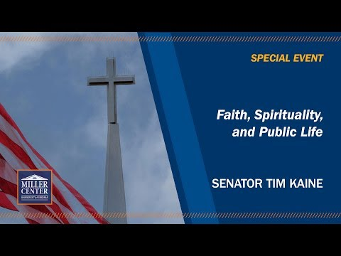 Faith, spirituality, and public life