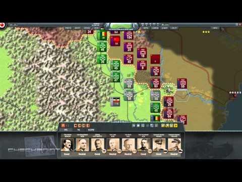 Decisive Campaigns Barbarossa Gameplay (PC)