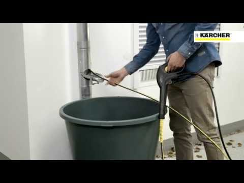 Karcher Drain Amp Gutter Cleaning Kit Screwfix Youtube