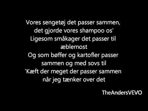 Linda P - Du' Fanme Pæn Du Er (Lyrics) [HD]
