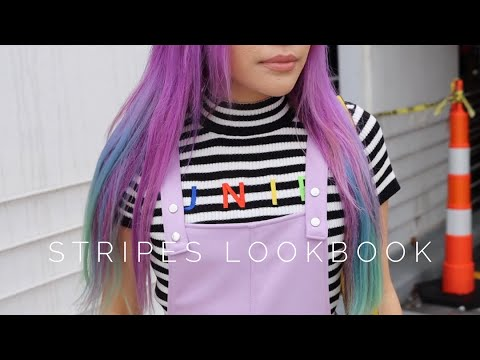 [VIDEO] - fall grunge // stripes lookbook 9