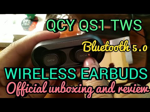 ab8d7bb8e54b QCY QS1 TWS Unboxing Wireless Earphones V5.0 with Dual Microphone ...
